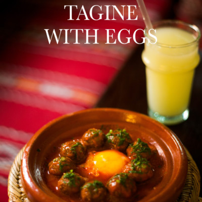Kefta Tagine with Eggs