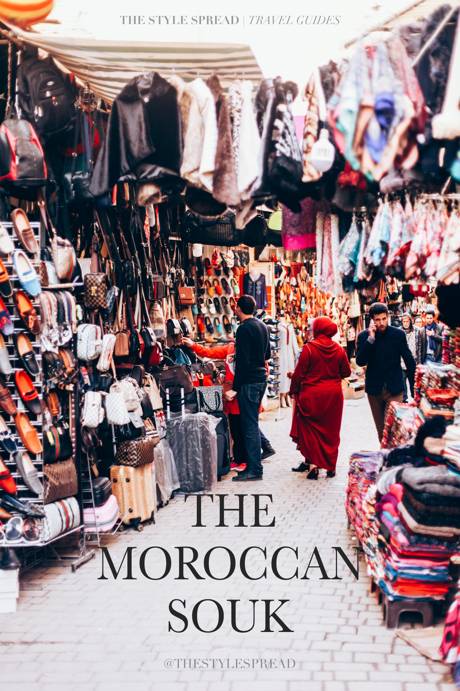 How to Shop A Moroccan Souk